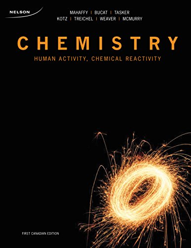 9780176104375: Chemistry Human Activity, Chemical Reactivity