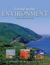 9780176104542: Living in The Environment: First Canadian Edition