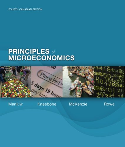 PRINCIPLES OF MICROECONOMICS STUDY GUIDE: Mankiw, Gregory; Kneebone,