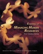 9780176168070: Essentials of Managing Human Resources