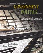 9780176169275: INTRO TO GOVERNMENT AND POLITICS 6TH ED - DICKERSON