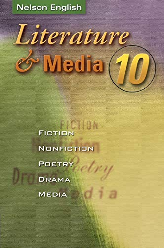9780176187095: Literature and Media 10: Student Text ON Hardcover