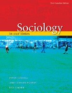 9780176223199: Sociology in Our Times : Third Canadian Edition