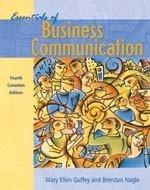 Essentials of Business Communication (0176223258) by Mary Ellen Guffey