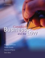 9780176223885: Canadian Business And The Law : Second Edition
