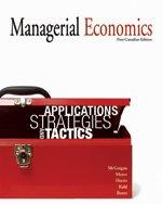 MANAGERIAL ECONOMICS, 1ST CANADIAN EDITION: McGuigan, James R.;