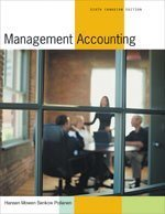 MANAGEMENT ACCOUNTING >CANADIA: Don R. Hansen