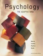 Psychology: The Adaptive Mind : Second Canadian: James S. Nairne,