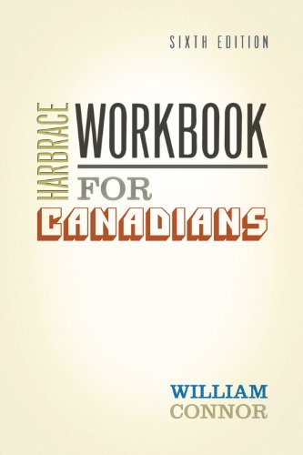9780176225100: HARBRACE WORKBOOK FOR CANADIANS : Sixth Edition