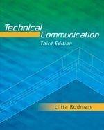 Technical Communication: Lilita Rodman