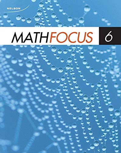 9780176237684: Nelson Math Focus 6 Workbook Blackline Masters