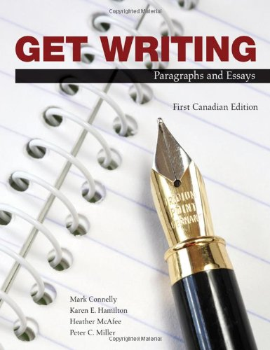 9780176251628: Get Writing: Paragraphs and Essays