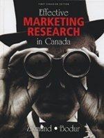 Effective Marketing Research in Canada: William G. Zikmund