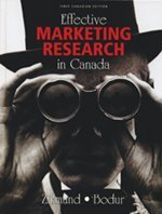 9780176252083: Effective Marketing Research in Canada