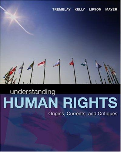 Understanding Human Rights: Origins, Currents and Critiques: Reeta Tremblay, James
