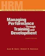Managing Performance Through Training & Development: Jay Devore