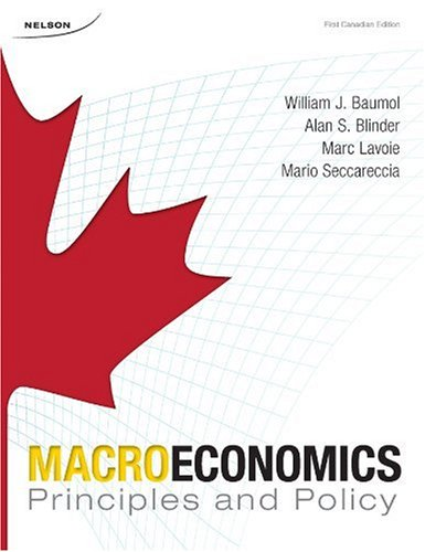9780176252557: Macroeconomics: Principles and Policy