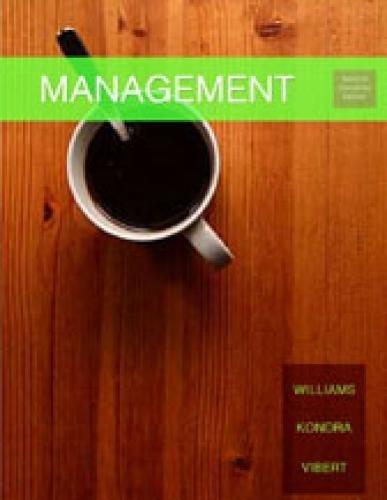 MANAGEMENT 2/E CDN: Chuck Williams, Alex