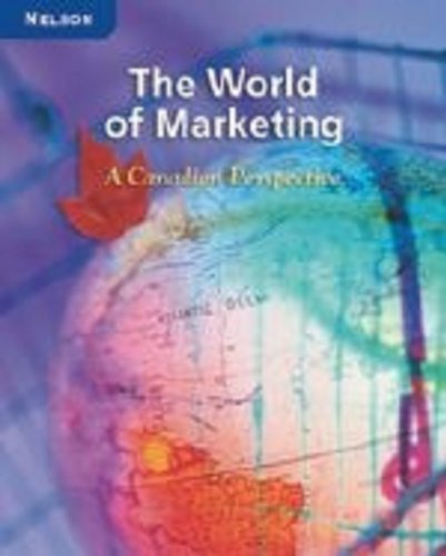 9780176259488: The World of Marketing: A Canadian Perspective: Student Workbook