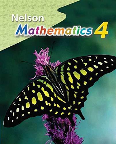 9780176259693: Nelson Mathematics Grade 4: Student Text