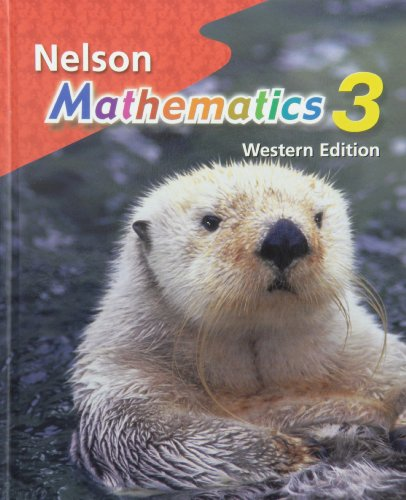 Nelson Mathematics 3: Student Text, Western Edition: Thomson Nelson