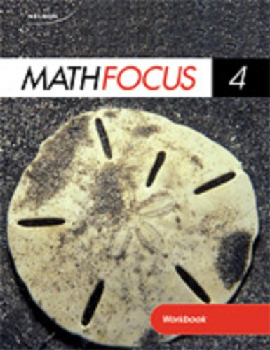 9780176324513: Nelson Math Focus 4 Student Workbook