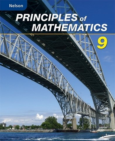 9780176332013: Nelson Principles of Mathematics 9: Student Text