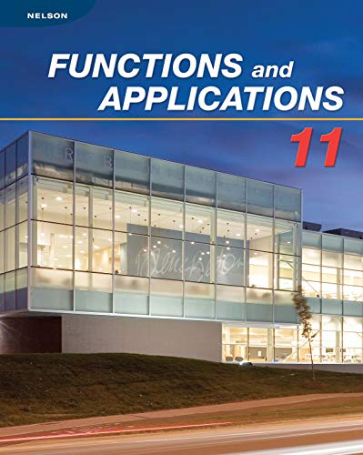 9780176332044: Functions and Applications 11