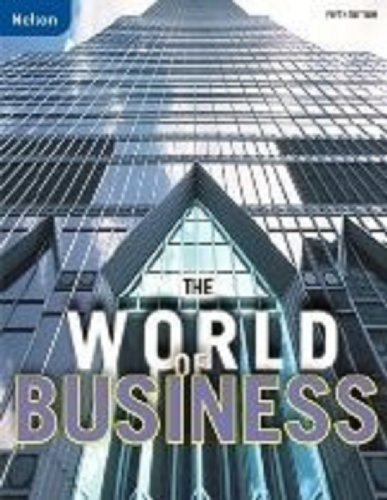 9780176337544: The World of Business Workbook