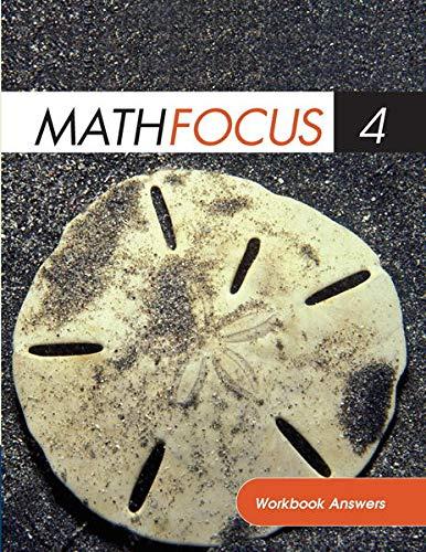 9780176343477: Math Focus 4: Workbook Answers