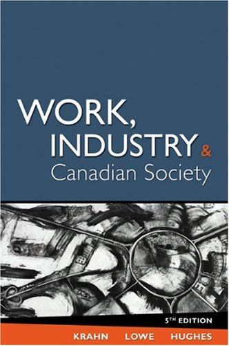 an analysis of the shiftwork in the industrial society of canada Any applicable statutory provisions, the canadian society for chemical engineering, the chemical institute of canada (including without limitation their respective past and present officers, directors, members, employees or volunteers).