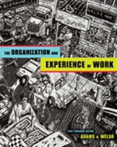9780176406158: Organization and Experience of Work