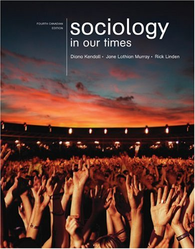 Sociology in Our Times: Diane Kendall, Rick