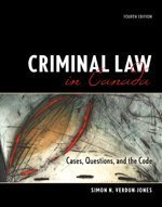 9780176407179: Criminal Law in Canada: Cases, Questions and the Code