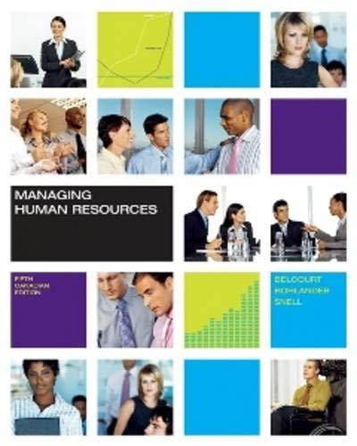 9780176407292: Managing Human Resources