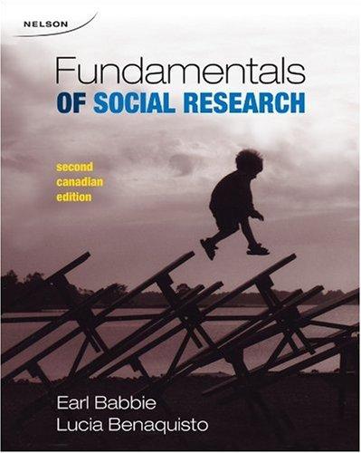 9780176414542: CDN ED Fundamentals of Social Research