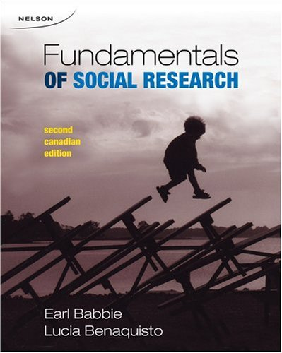 9780176414542: CDN ED Fundamentals of Social Research