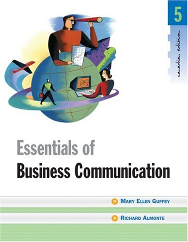 9780176415037: Essentials of Business Communication - 5th edition