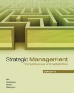 Strategic Management: Concepts : Competitiveness and Globalization,: Michael A. Hitt