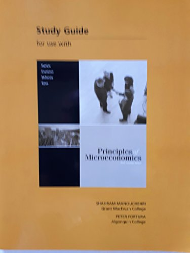Study Guide for Use with Principles of: Shahram; Fortura, Peter