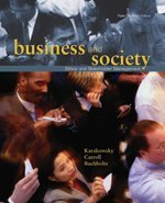 9780176416515: Business and Society: Ethics and Stakeholder Management, First Canadian Edition