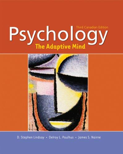 Psychology: The Adaptive Mind: NAIRNE ET AL