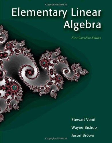 CDN ED Elementary Linear Algebra: unknown