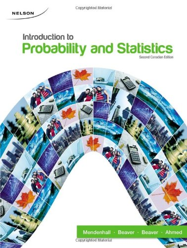 9780176440886: Introduction To Probability and Statistics