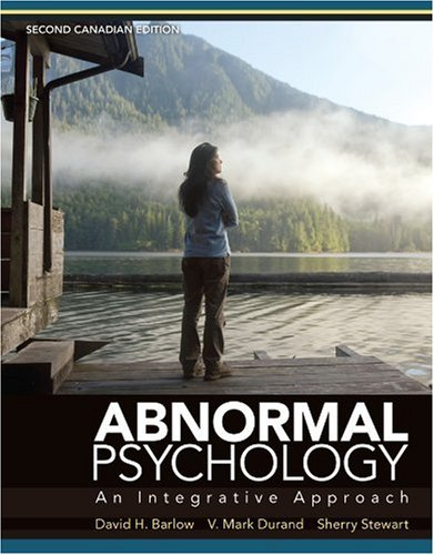9780176441517: Abnormal Psychology: An Integrative Approach