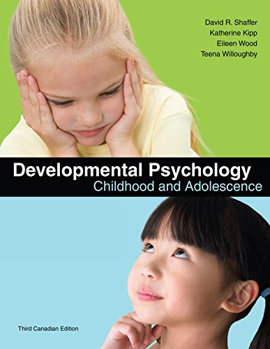 9780176441821: Developmental Psychology - Childhood & Adolescence (8th, 10) by Shaffer, David R - Kipp, Katherine [Hardcover (2009)]