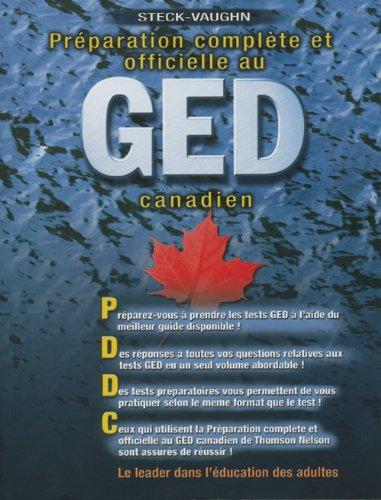 9780176462864: Preparation Complete Et Officielle Au Ged Canadien: Conseiller a La Redaction (French Edition)