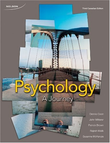 9780176472740: CDN ED Psychology: A Journey, 3e
