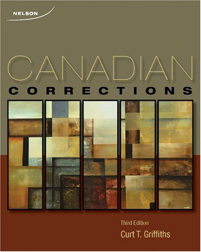 9780176473365: CND ED Canadian Corrections