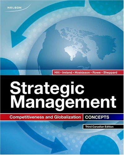 9780176500061: CDN ED Strategic Management Concepts